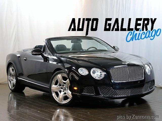 2012 Bentley Continental GTC (CC-1368860) for sale in Addison, Illinois