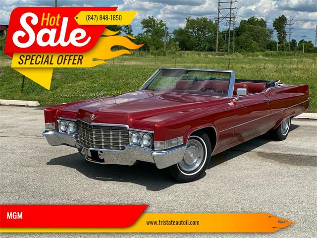 1969 Cadillac DeVille (CC-1360898) for sale in Addison, Illinois