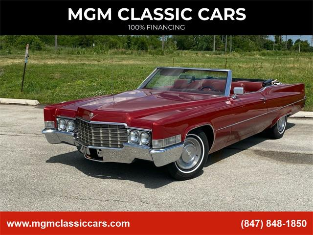 1969 Cadillac DeVille (CC-1360898) for sale in Addison, Illinois
