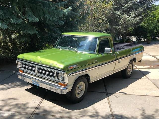 1972 Ford F250 (CC-1369005) for sale in Reno, Nevada