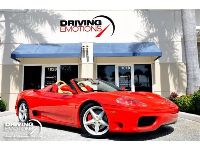 2001 Ferrari 360 Spider (CC-1369062) for sale in West Palm Beach, Florida