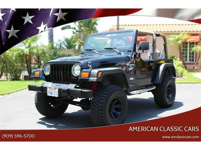 1999 Jeep Wrangler (CC-1369073) for sale in La Verne, California