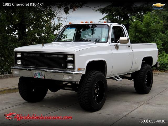 1981 Chevrolet K-10 (CC-1369103) for sale in Gladstone, Oregon