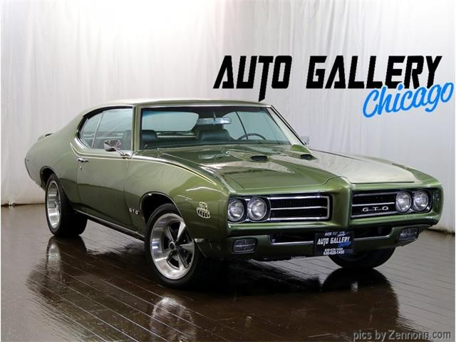 1969 Pontiac GTO (CC-1369163) for sale in Addison, Illinois