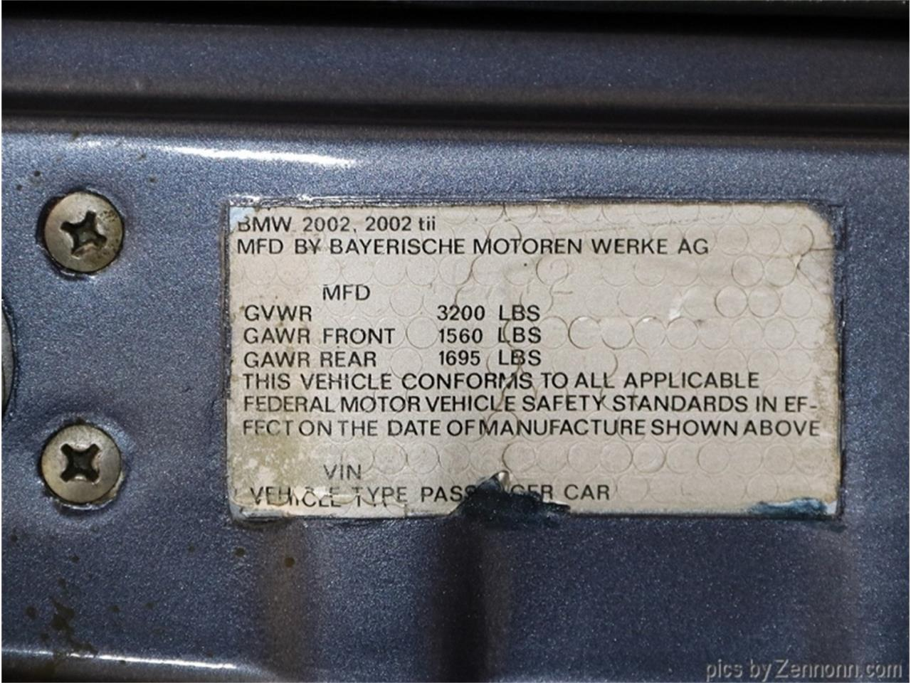 1973 BMW 2002 (CC-1369164) for sale in Addison, Illinois