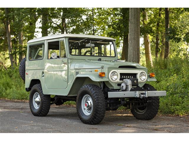 1970 Toyota Land Cruiser FJ40 (CC-1369232) for sale in Stratford, Connecticut