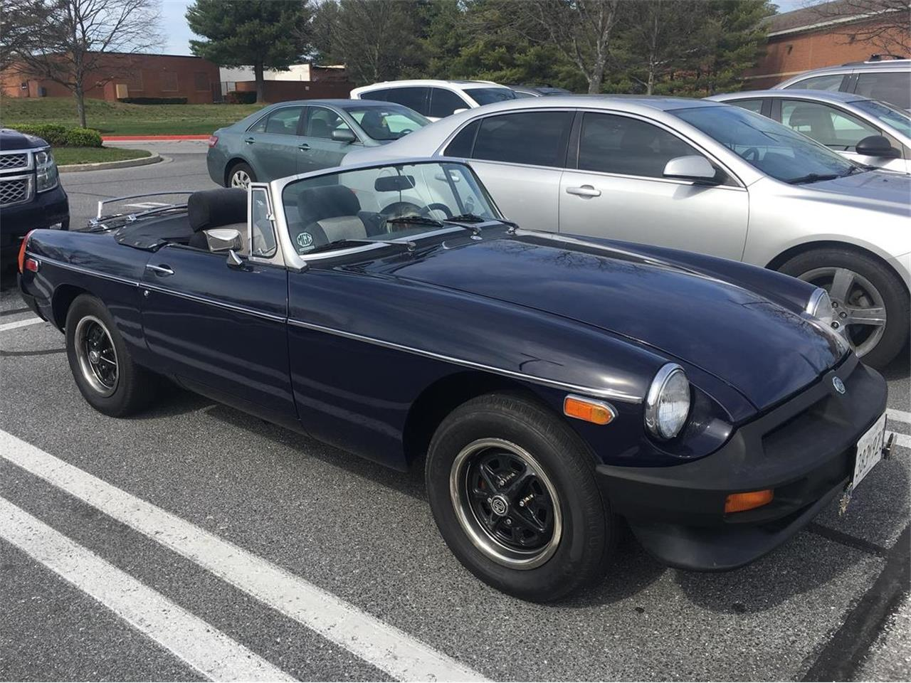 1980 MG MGB (CC-1369244) for sale in Baltimore , Maryland
