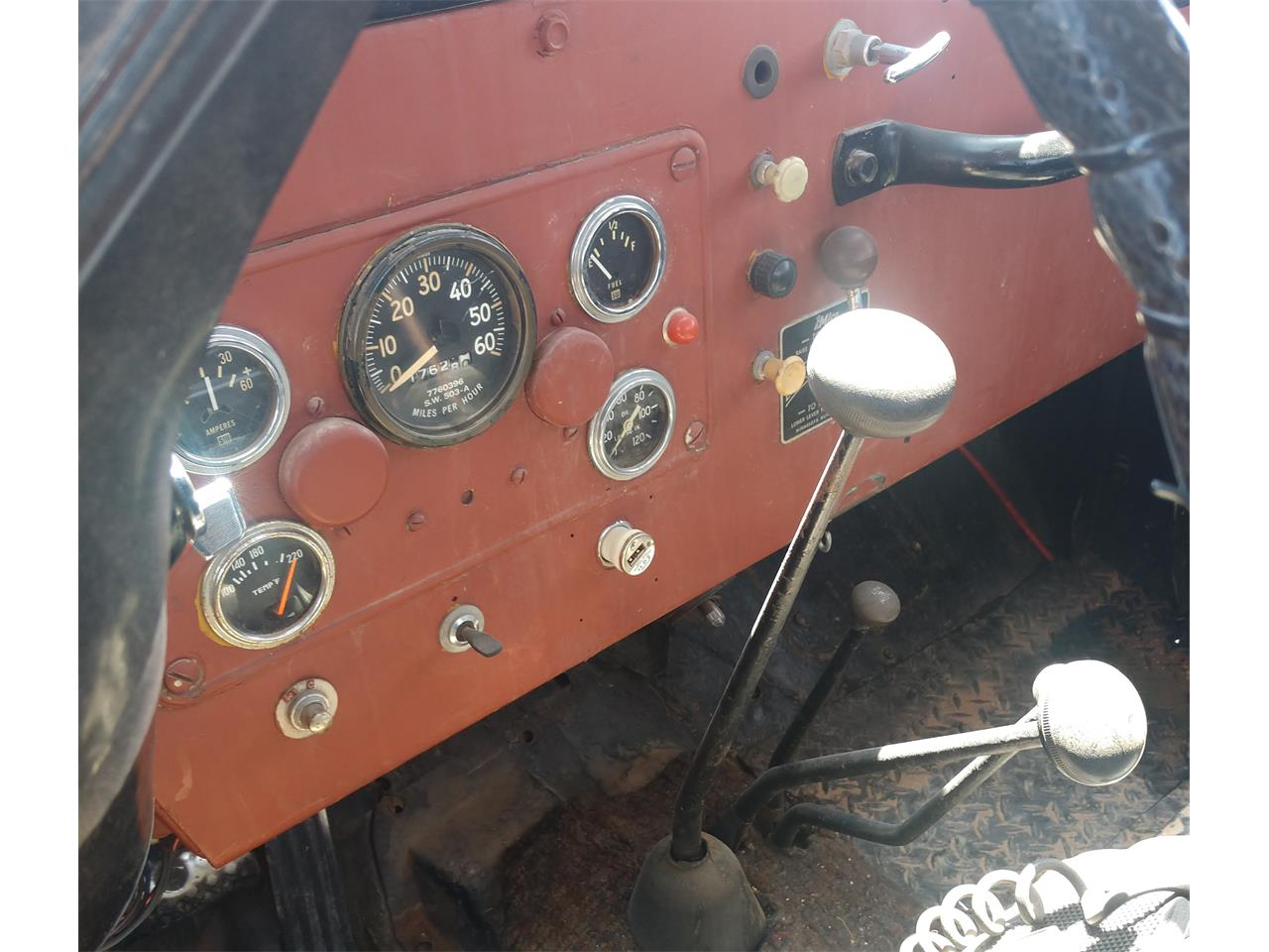 1955 Willys Jeep (CC-1369637) for sale in Littlefield, Arizona
