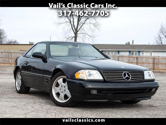 1999 Mercedes-Benz SL-Class (CC-1372500) for sale in Greenfield, Indiana