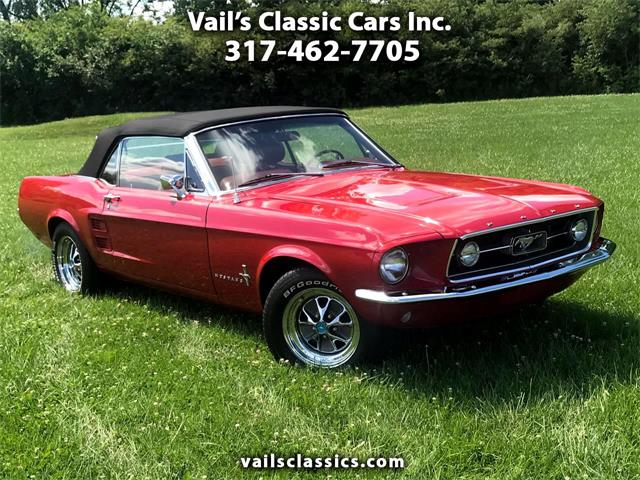 1967 Ford Mustang (CC-1372512) for sale in Greenfield, Indiana