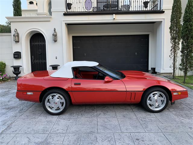 1989 Chevrolet Corvette (CC-1372525) for sale in Houston, Texas