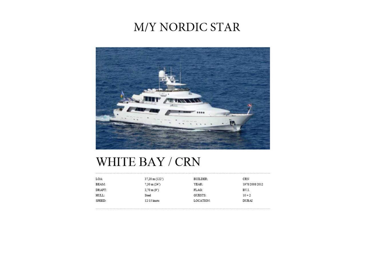 1978 CRN Nordic Star (CC-1373265) for sale in Dubai, UAE