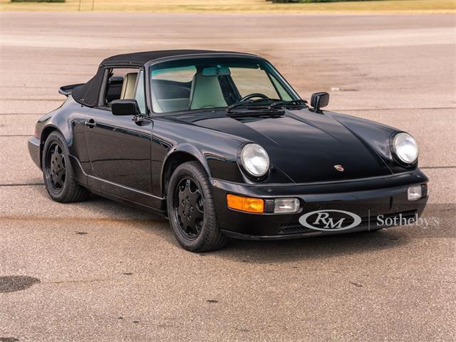 1990 Porsche 911 Carrera 4 Cabriolet (CC-1373381) for sale in Auburn, Indiana