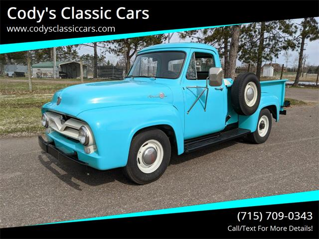 1955 Ford F250 (CC-1373436) for sale in Stanley, Wisconsin
