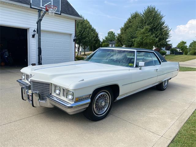 1972 Cadillac Coupe DeVille (CC-1373595) for sale in Stow, Ohio