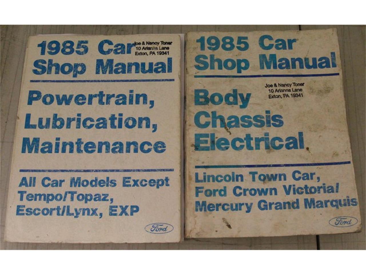1985 Lincoln Town Car (CC-1373763) for sale in Morgantown, Pennsylvania