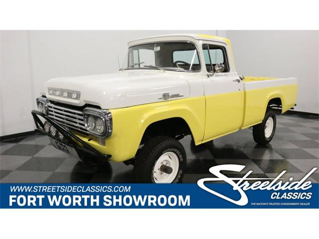 1959 Ford F100 (CC-1373829) for sale in Ft Worth, Texas