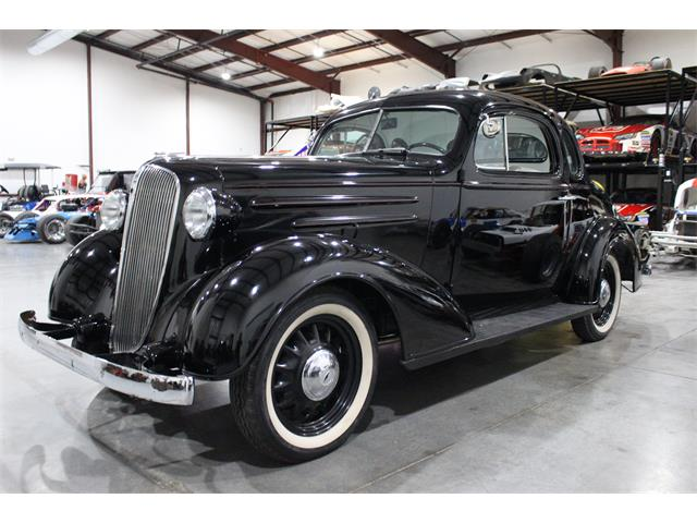 1936 Chevrolet 5-Window Coupe