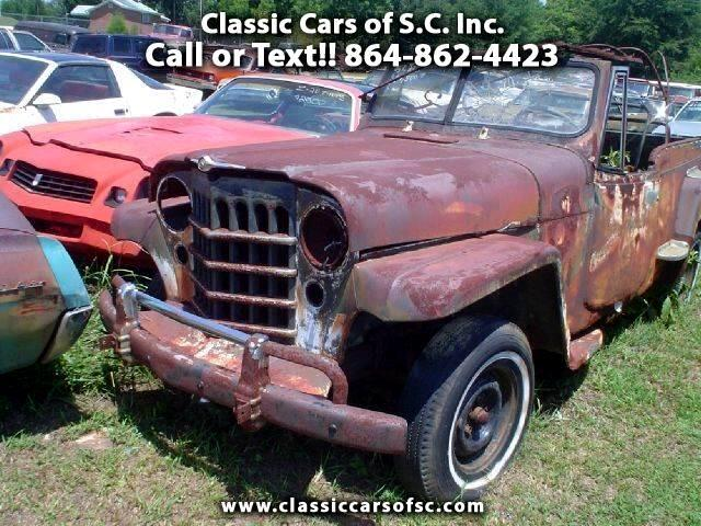 1951 Willys Jeep (CC-1373996) for sale in Gray Court, South Carolina