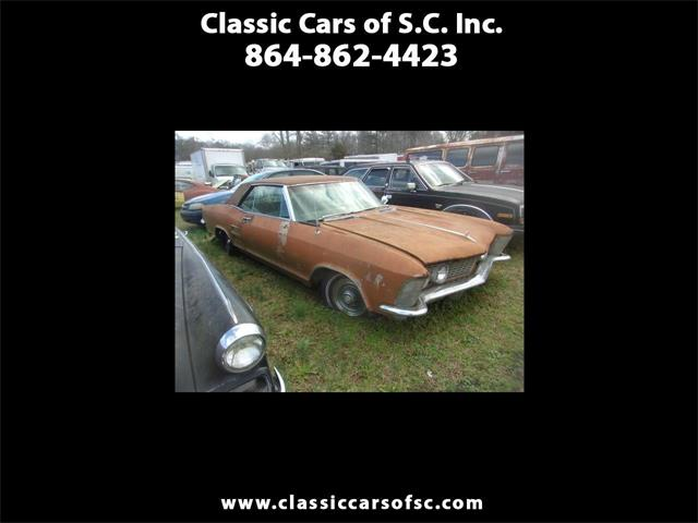1963 Buick Riviera (CC-1374005) for sale in Gray Court, South Carolina