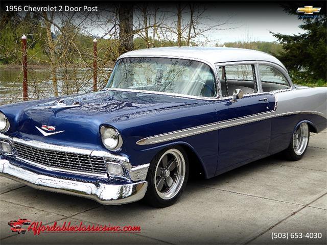 1956 Chevrolet 2-Dr Post (CC-1374124) for sale in Gladstone, Oregon