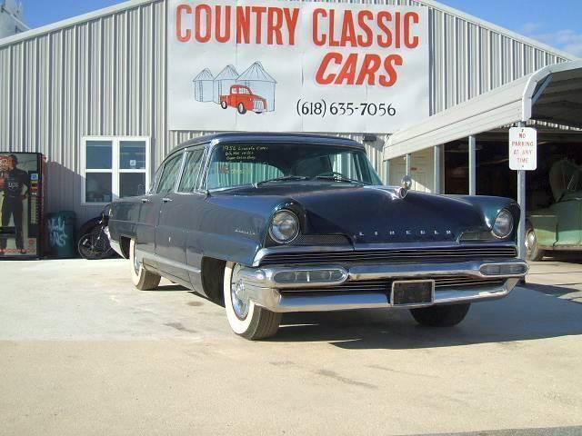 1956 Lincoln Capri (CC-1374188) for sale in Staunton, Illinois
