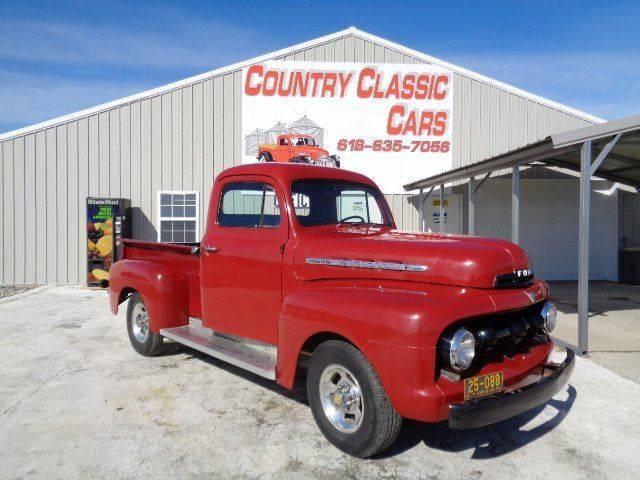 1952 Ford F100 (CC-1374260) for sale in Staunton, Illinois