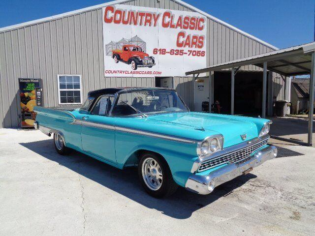 1959 Ford Fairlane 500 (CC-1374355) for sale in Staunton, Illinois