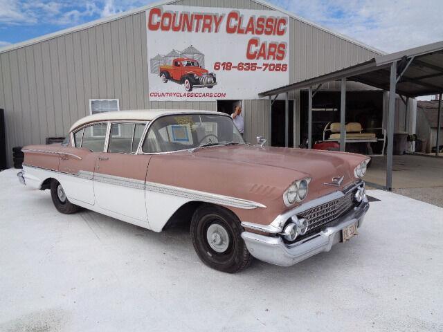 1958 Chevrolet Biscayne (CC-1374383) for sale in Staunton, Illinois