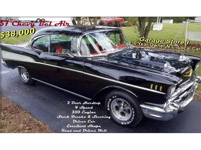 1957 Chevrolet Bel Air (CC-1374628) for sale in West Pittston, Pennsylvania