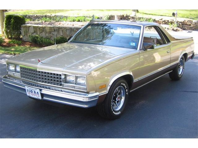1986 Chevrolet El Camino (CC-1375037) for sale in Lake Hiawatha, New Jersey