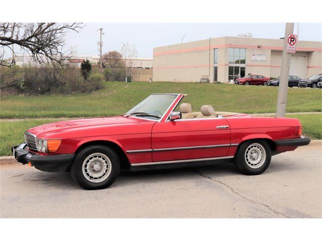 1985 Mercedes-Benz 380SL (CC-1375260) for sale in Alsip, Illinois
