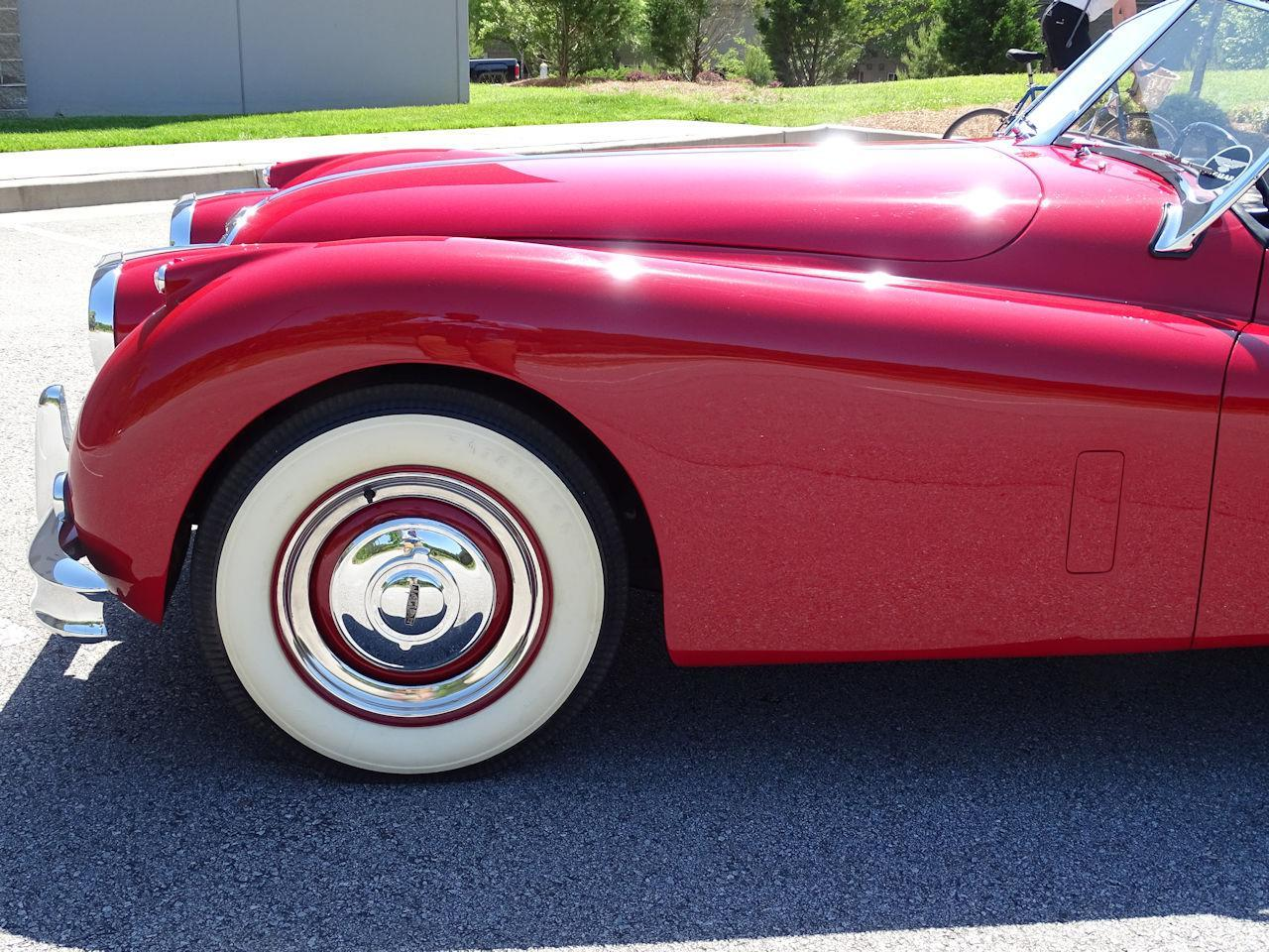 1957 Jaguar XK140 (CC-1375266) for sale in O'Fallon, Illinois