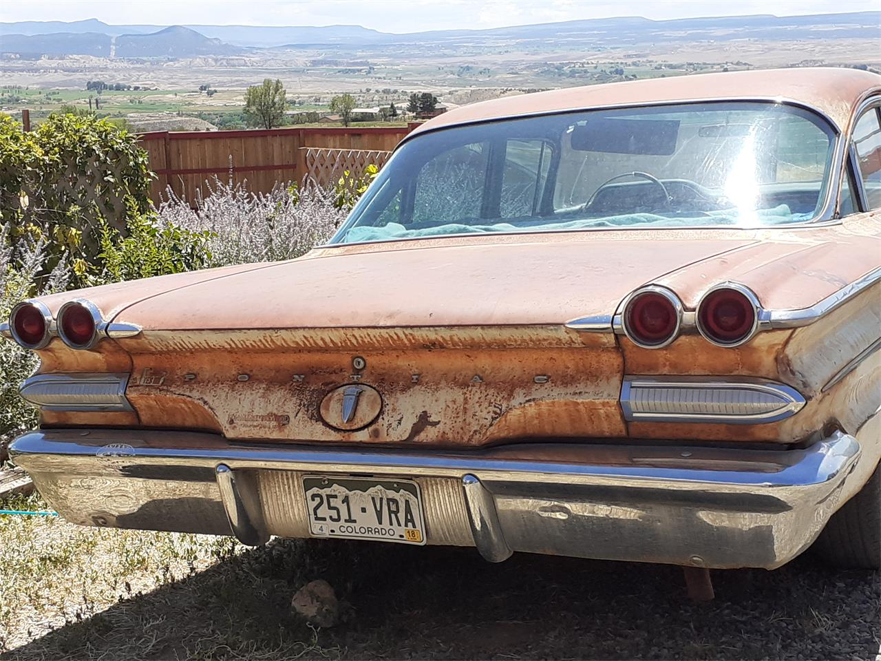 1960 Pontiac Catalina (CC-1375521) for sale in Paonia, Colorado