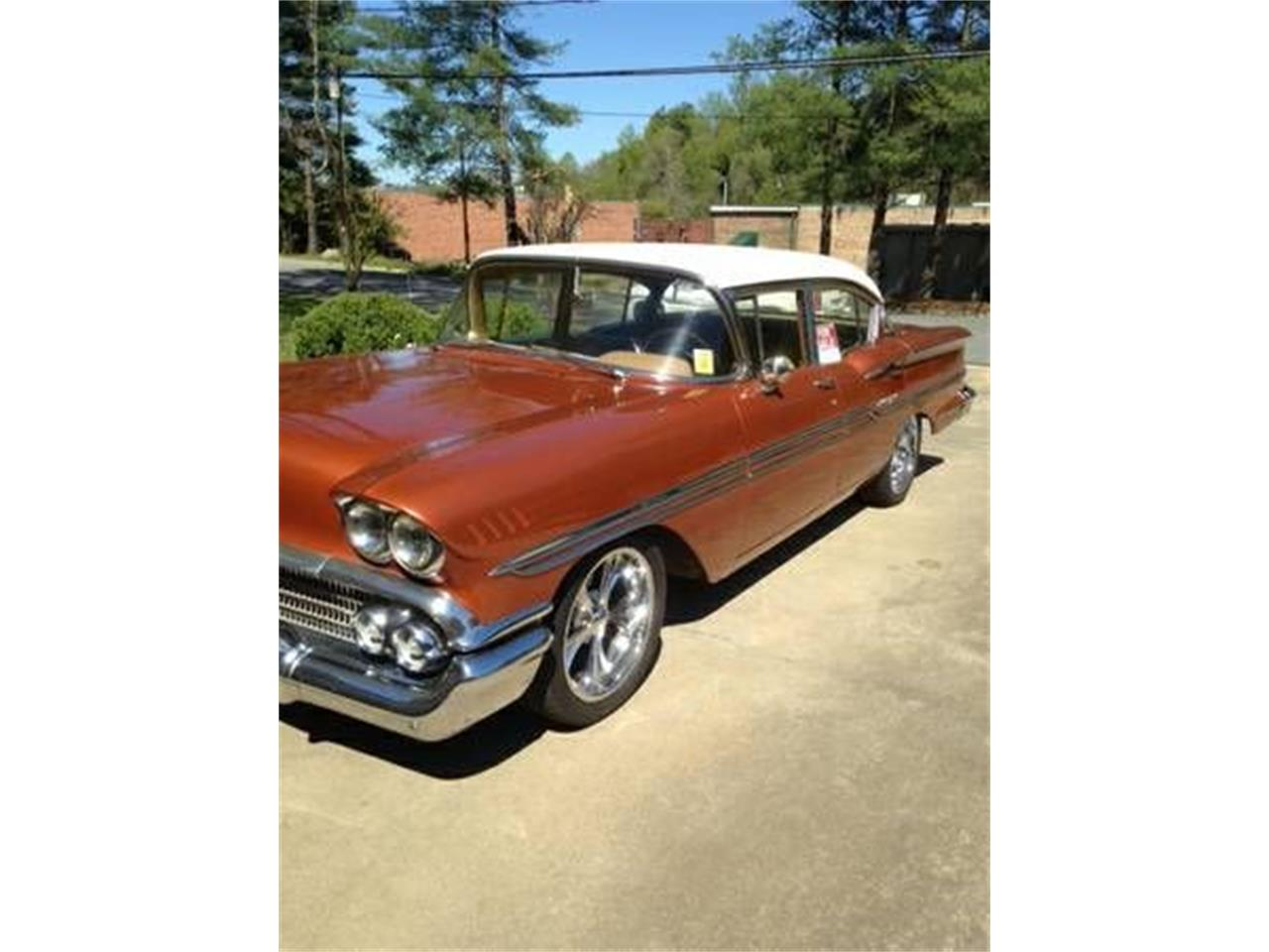 1958 Chevrolet Biscayne (CC-1375587) for sale in Cadillac, Michigan