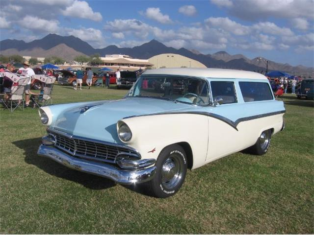 1956 Ford Ranch Wagon (CC-1375602) for sale in Cadillac, Michigan