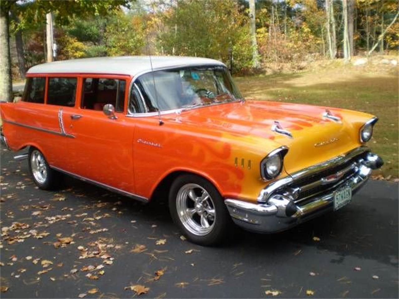 1957 Chevrolet Bel Air (CC-1375606) for sale in Cadillac, Michigan