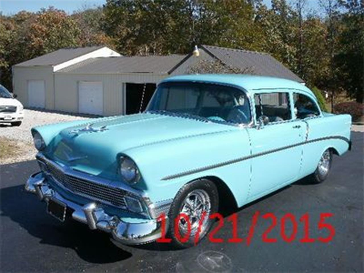 1956 Chevrolet Bel Air (CC-1375655) for sale in Cadillac, Michigan