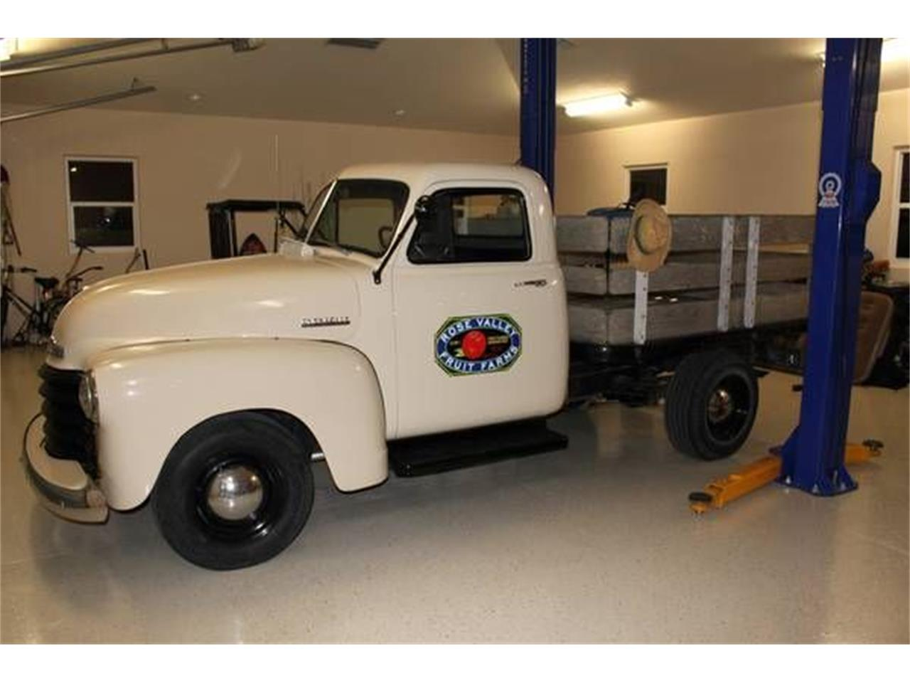 1952 Chevrolet Flatbed (CC-1375817) for sale in Cadillac, Michigan