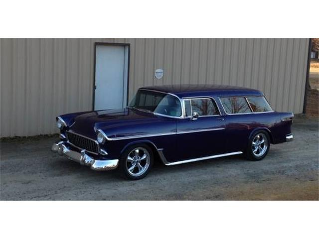1955 Chevrolet Nomad (CC-1375828) for sale in Cadillac, Michigan