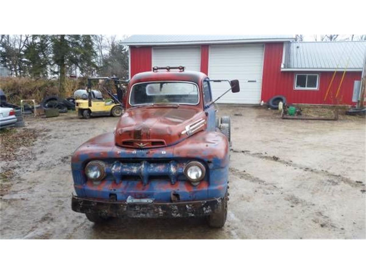 1952 Ford F7 (CC-1375892) for sale in Cadillac, Michigan
