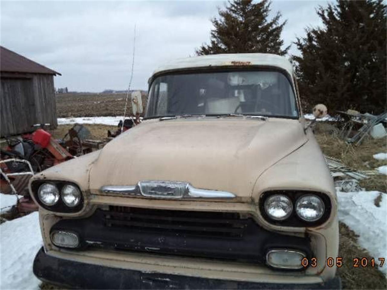1958 Chevrolet 3800 (CC-1375898) for sale in Cadillac, Michigan