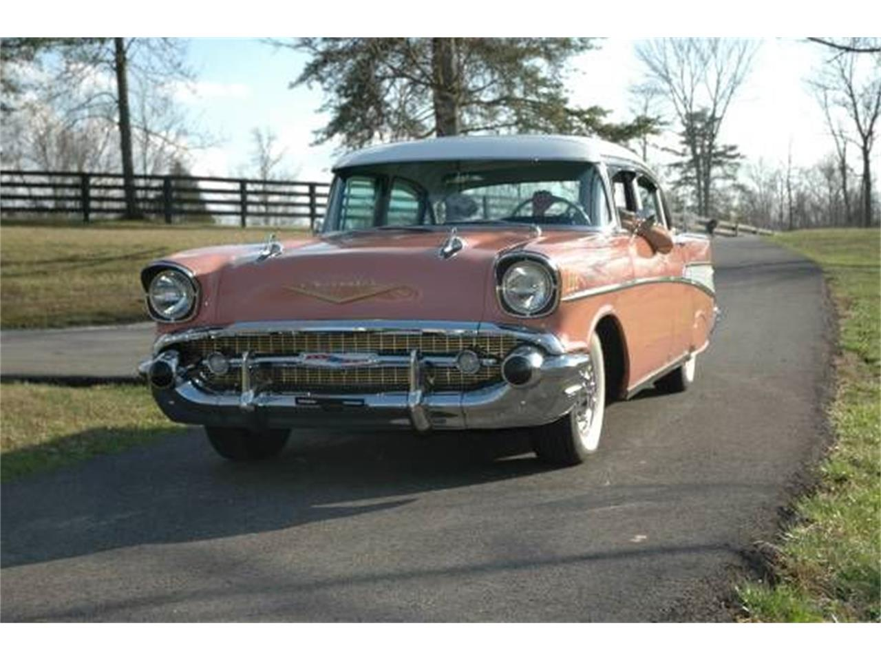 1957 Chevrolet Bel Air (CC-1375931) for sale in Cadillac, Michigan
