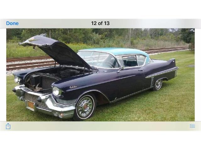 1957 Cadillac Series 62 (CC-1376036) for sale in Cadillac, Michigan