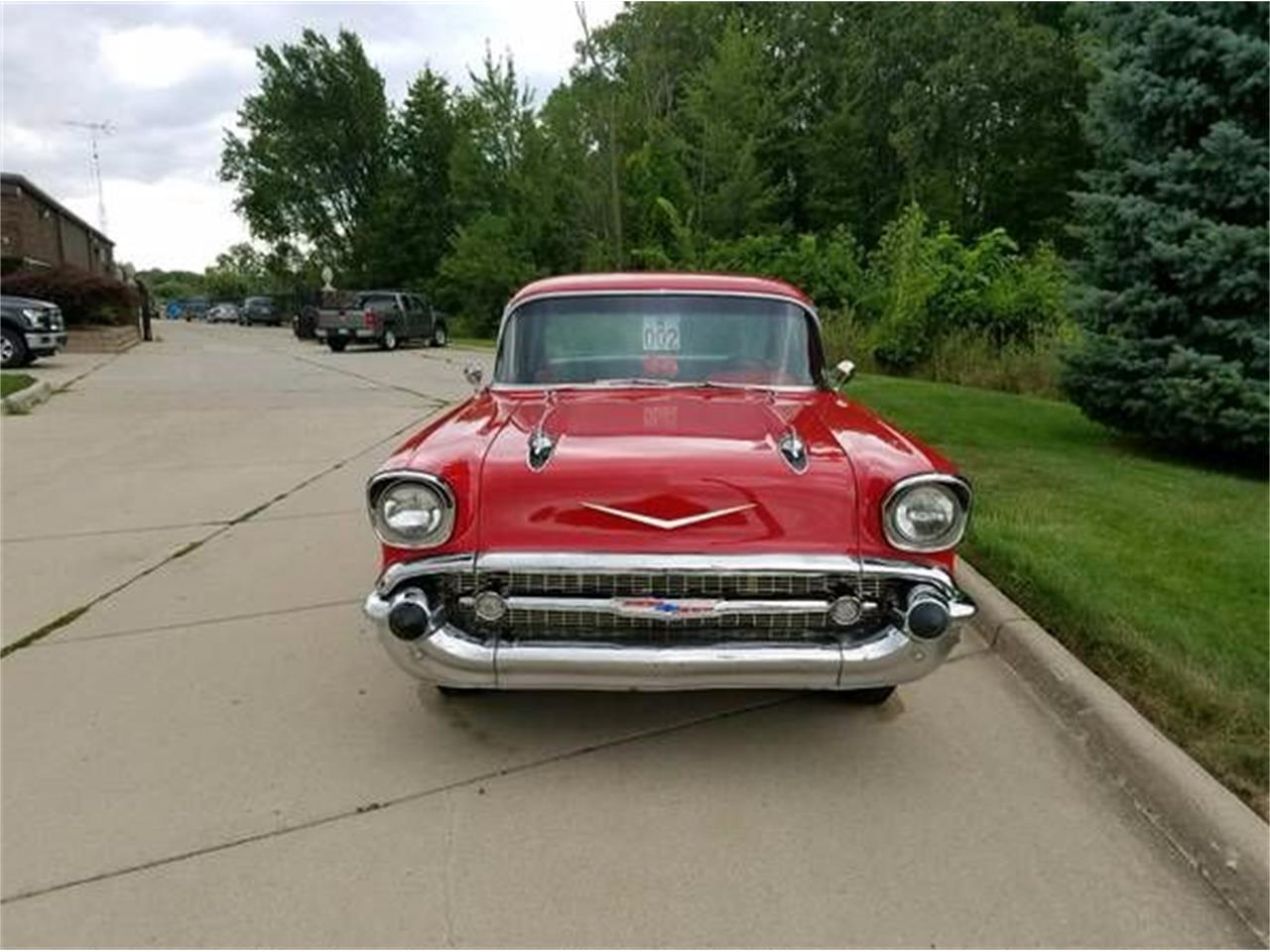 1957 Chevrolet Bel Air (CC-1376043) for sale in Cadillac, Michigan