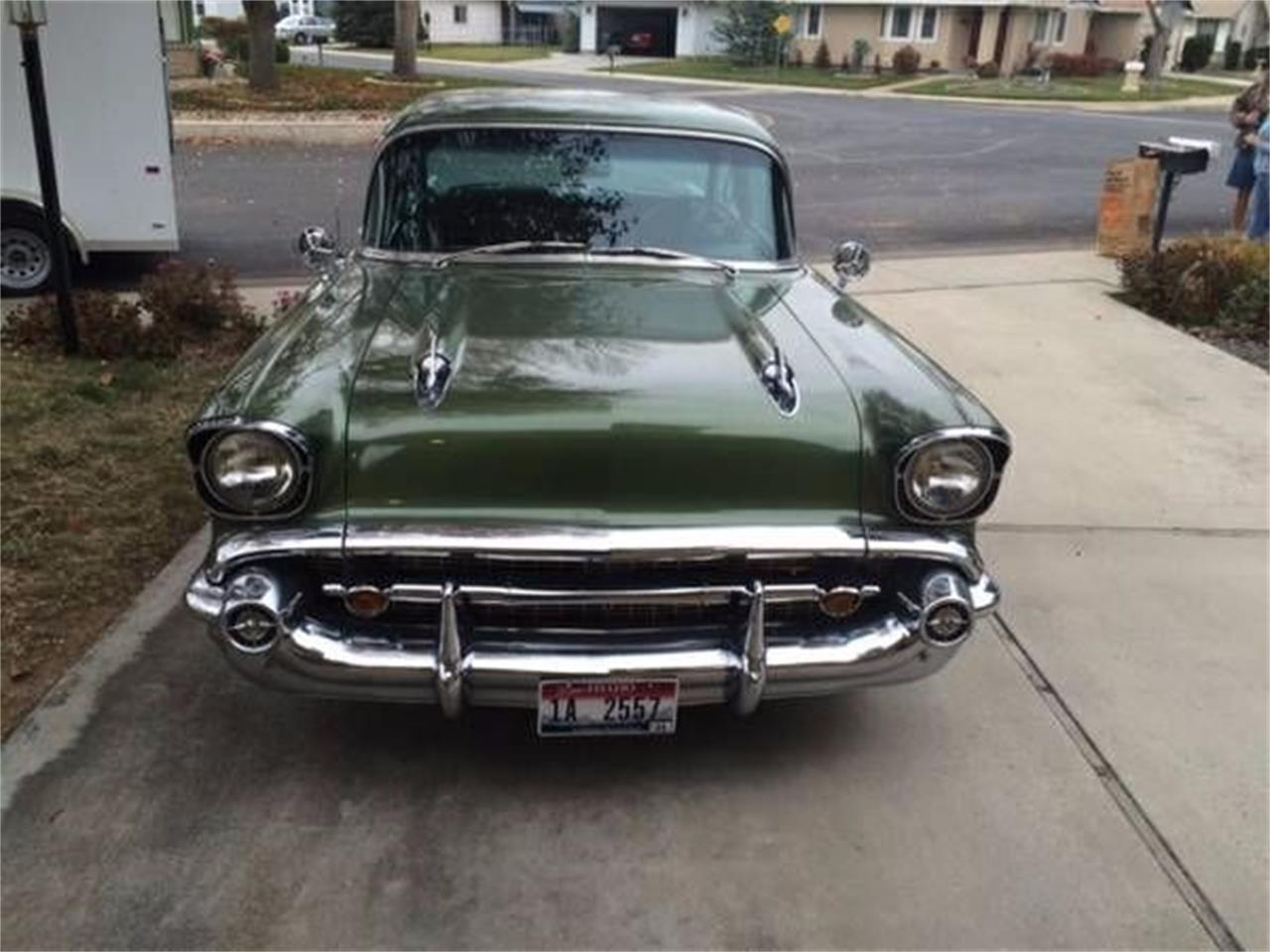 1957 Chevrolet Bel Air (CC-1376068) for sale in Cadillac, Michigan