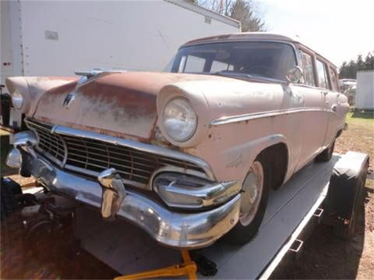 1956 Ford Country Squire Wagon (CC-1376151) for sale in Cadillac, Michigan
