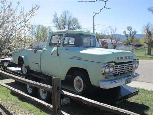 1959 Ford F100 (CC-1376468) for sale in Cadillac, Michigan