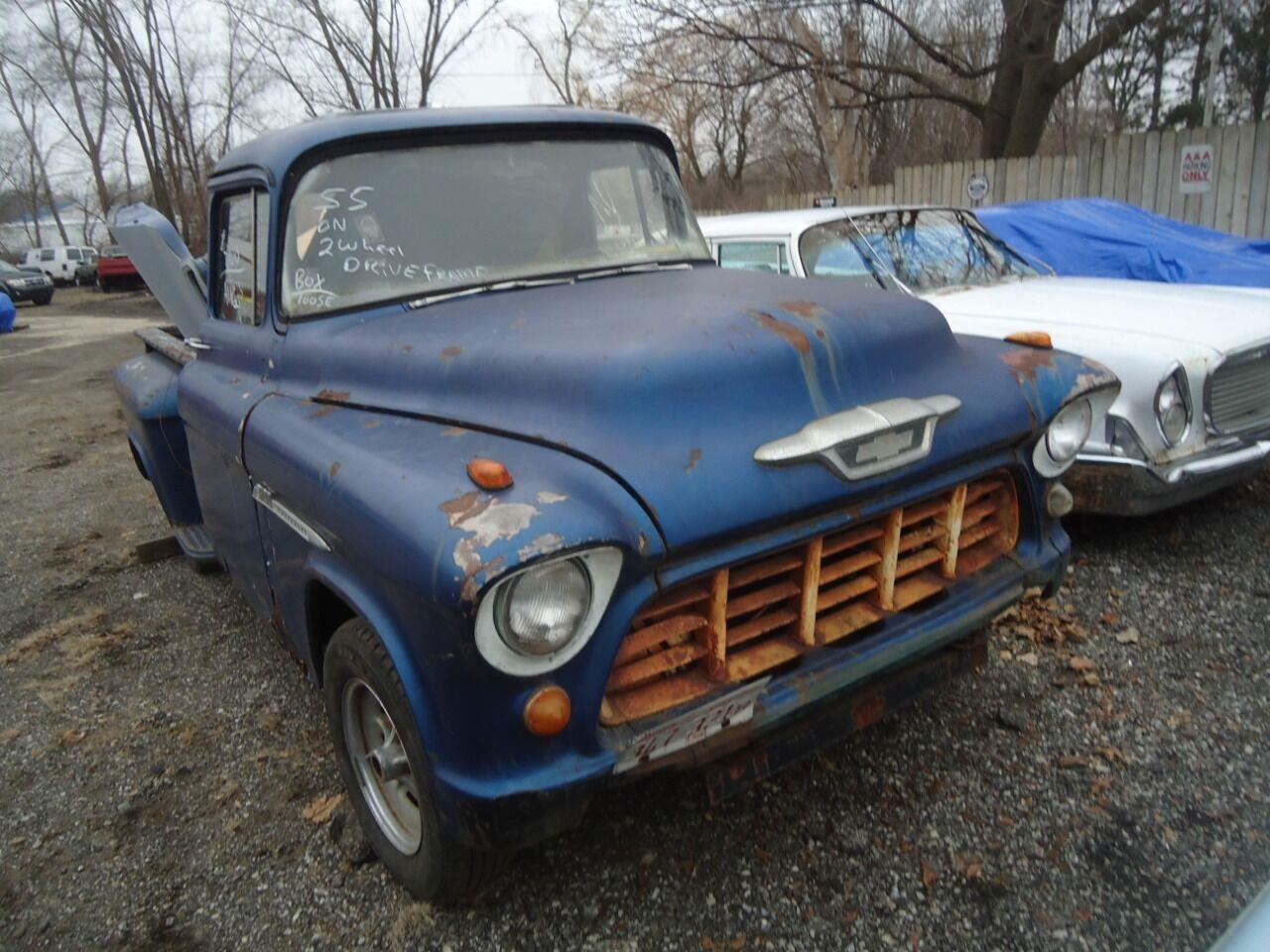 1955 Chevrolet Apache (CC-1376638) for sale in Jackson, Michigan