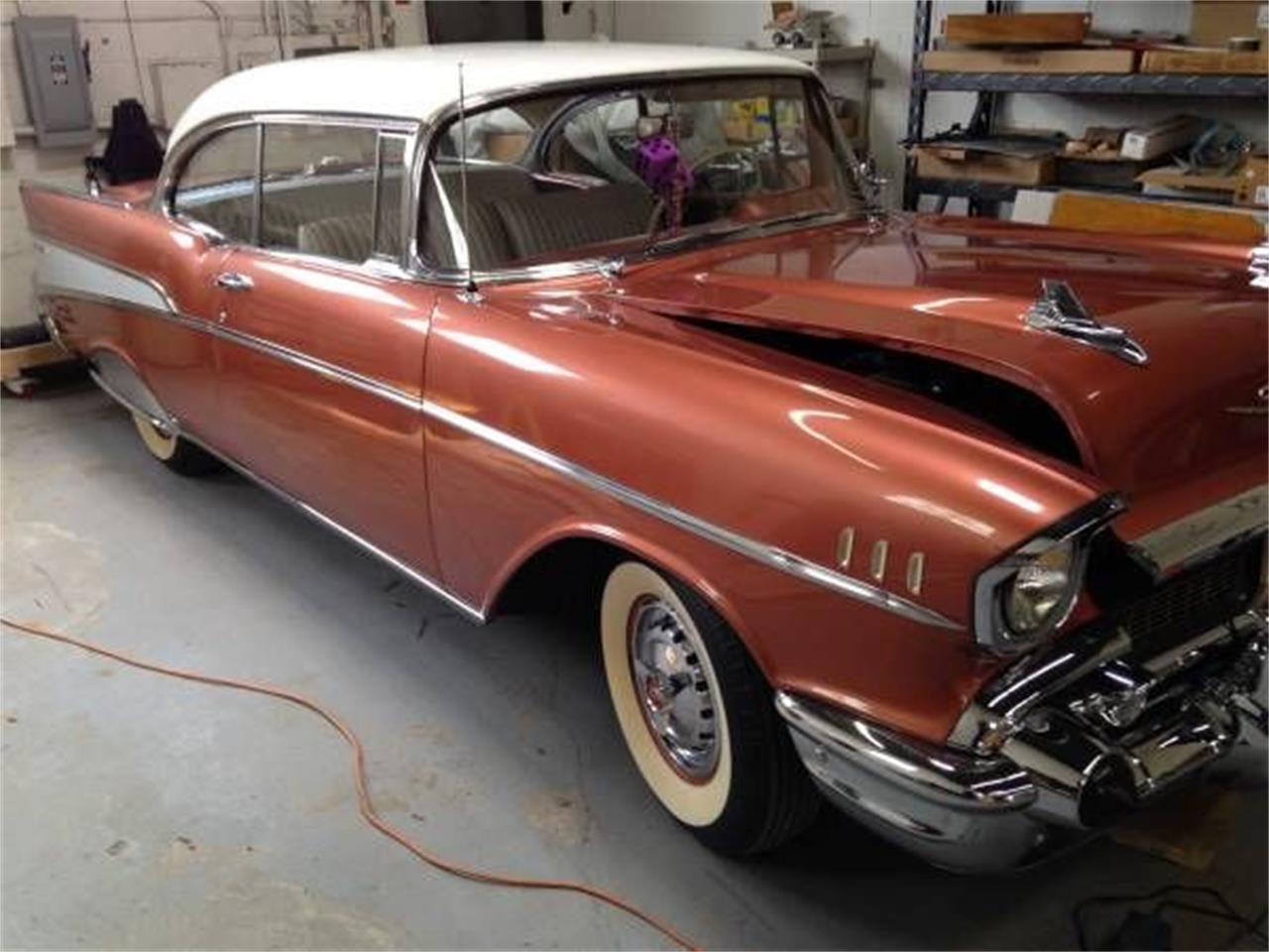 1957 Chevrolet Bel Air (CC-1376655) for sale in Cadillac, Michigan